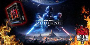 Star Wars Battlefront 2 auf der HM8 in 3x4K/UHD