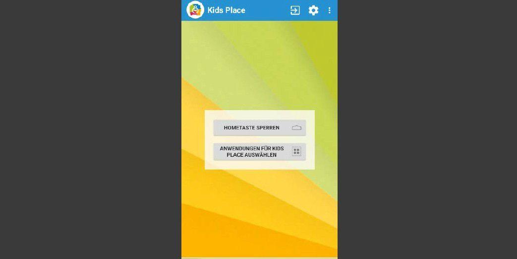 kindersicherung f r tablet und smartphone einrichten pc welt. Black Bedroom Furniture Sets. Home Design Ideas