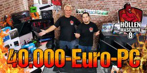 40.000?-GAMING-PC - ALLE Komponenten der HM08