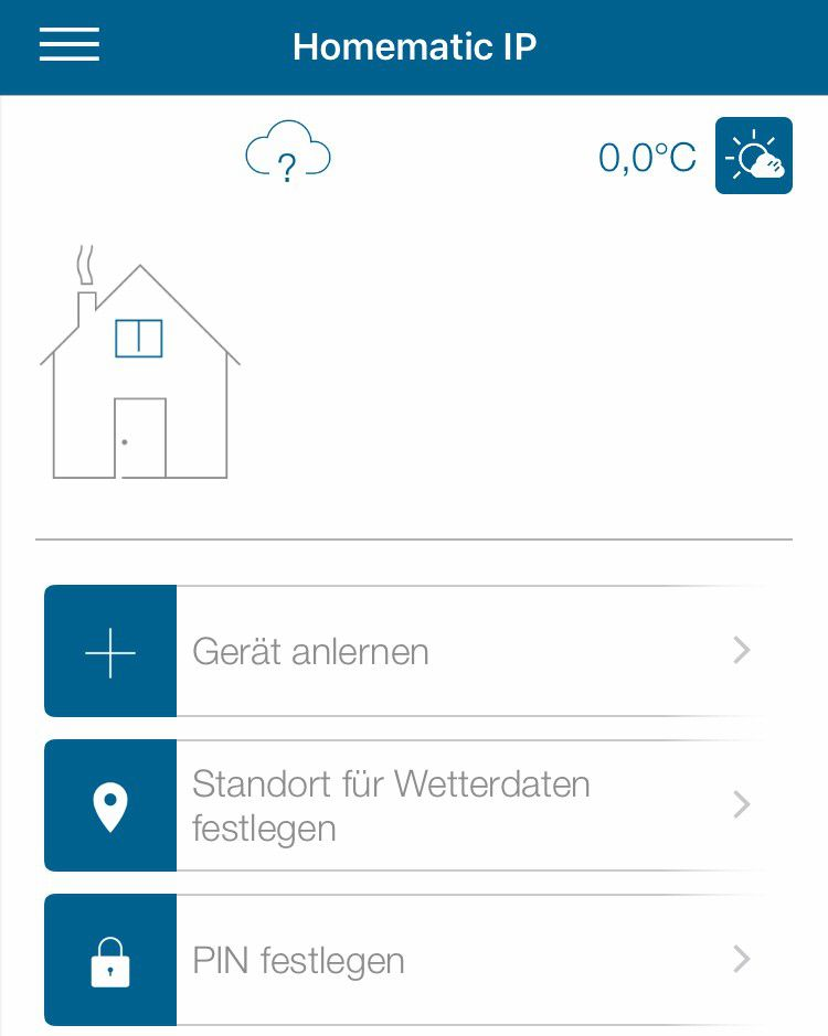 homematic ip test smart home mit app access point. Black Bedroom Furniture Sets. Home Design Ideas