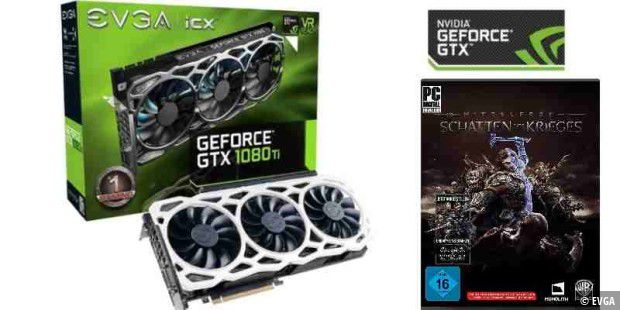 Wir verlosten die Power-Grafikkarte EVGA GeForce GTX 1080 Ti FTW 3