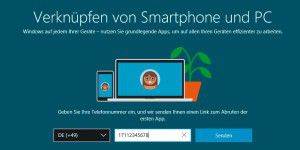 Websites vom Smartphone an Windows senden