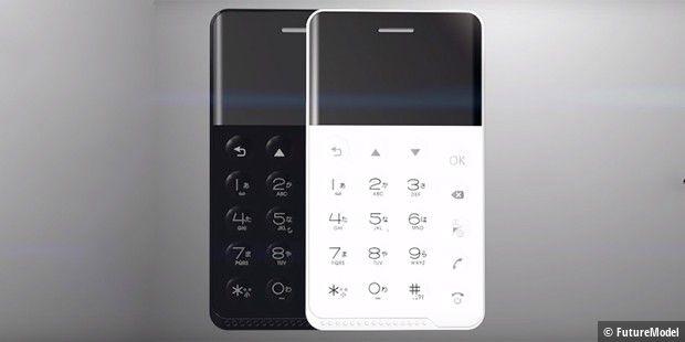 Nichephone s android smartphone im kreditkarten format for Minimalistisches smartphone