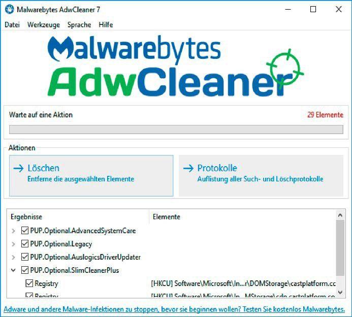 spyware entfernen kostenlos windows 7