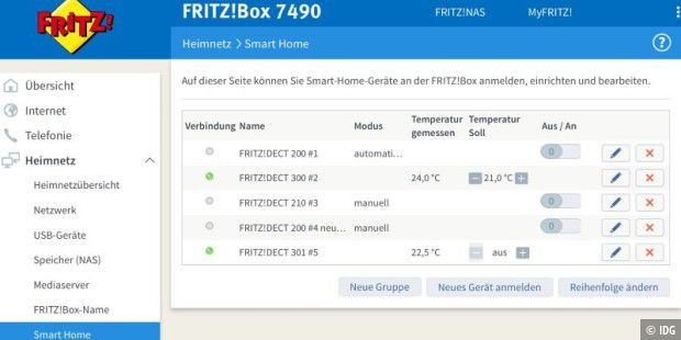 avm fritz dect 301 im test heiz thermostat senkt kosten. Black Bedroom Furniture Sets. Home Design Ideas