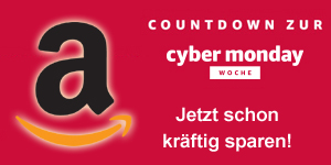 Cyber-Week Countdown-Angebote bei Amazon