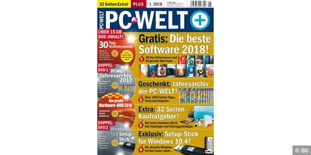 PC-WELT 1/2018 jetzt am Kiosk: Die beste Software 2018! - PC-WELT