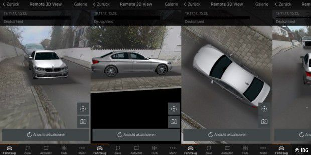Bmw Connected Drive Im Test Kamera überwachung Und Cleveres Navi