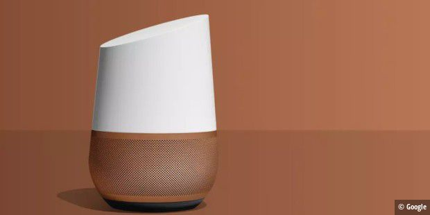 Google Home mit Google Assistant.