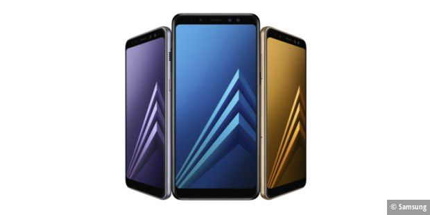 Samsung galaxy a8 2018 a t officiellement pr sent for Piscine galaxy allemagne