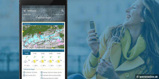 c16b52d3a8d488 Die besten Wetter-Apps für Android - PC-WELT
