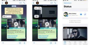 Whatsapp spielt Youtube-Videos direkt in der iOS-App ab