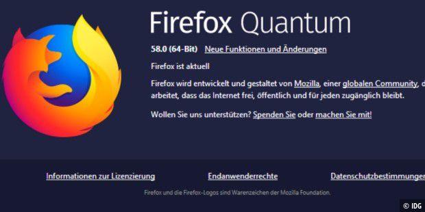 Firefox 58 beschleunigt Web-Apps