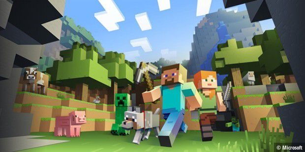 Minecraft Stellt Auch Neue Rekorde Auf PCWELT - Minecraft flussig spielen