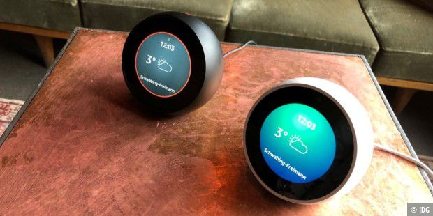 Amazon Echo Spot ab sofort vorbestellbar.