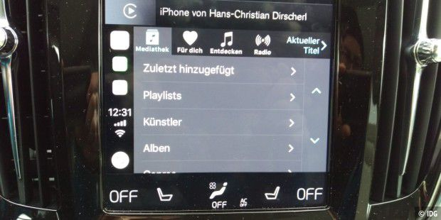 Apple Music mit trister Optik.