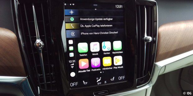 Test: Sensus Connect und Volvo On Call im Volvo V90 - PC-WELT