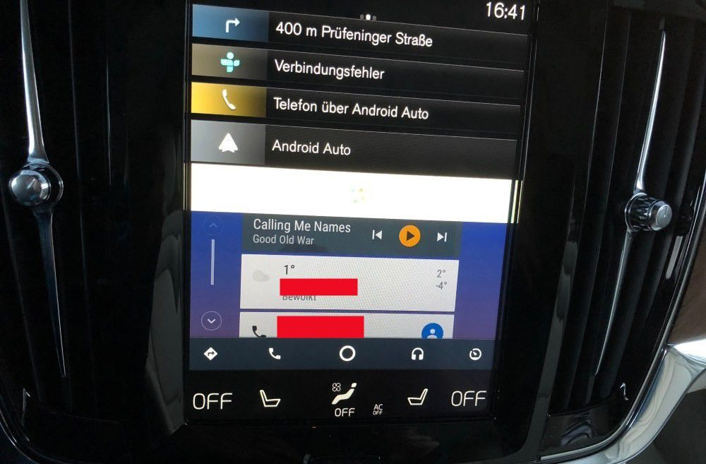 android auto im test funktionen apps auto hersteller pc welt. Black Bedroom Furniture Sets. Home Design Ideas