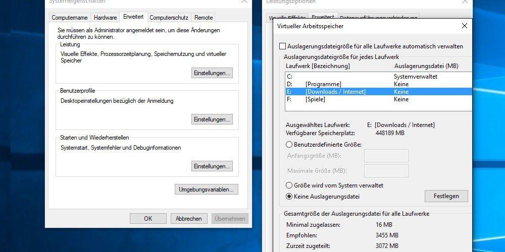 Windows: Pagefile.sys verschieben, ändern, löschen - PC-WELT
