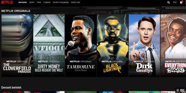Netflix mit 1080p in Firefox und Chrome - so geht´s - PC-WELT