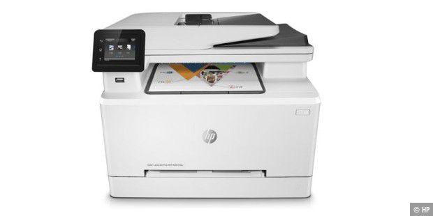 HP Color Laserjet Pro MFP M281fdw im Test - PC-WELT