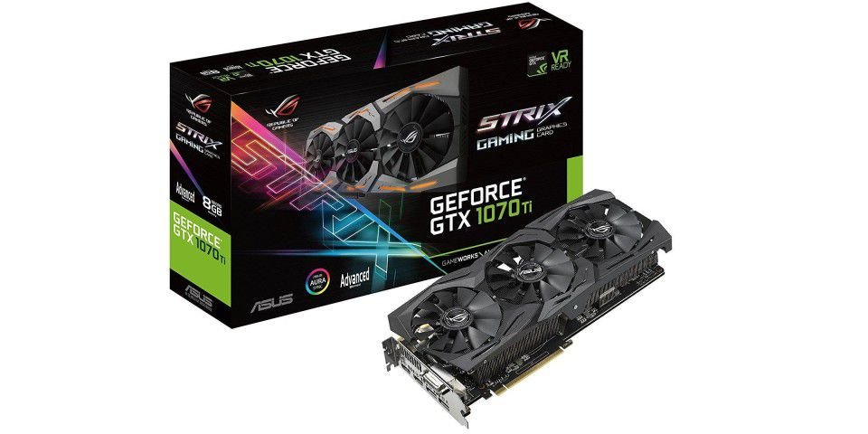 ASUS GeForce GTX 1070 Ti STRIX A8G Gaming