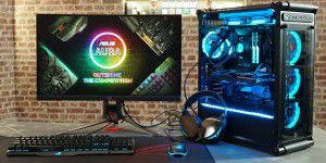 RGB-Overkill: Extremer Gaming-PC