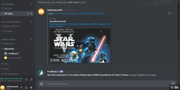 how to add auto play list to discord bot