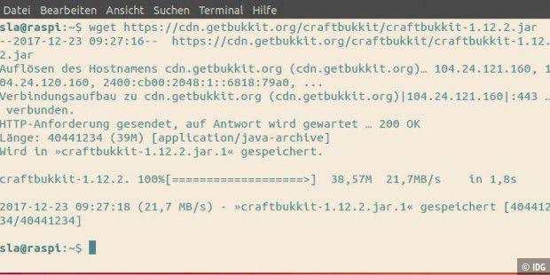So Setzen Sie Ihren Eigenen MinecraftServer Auf PCWELT - Minecraft bukkit server unter linux erstellen