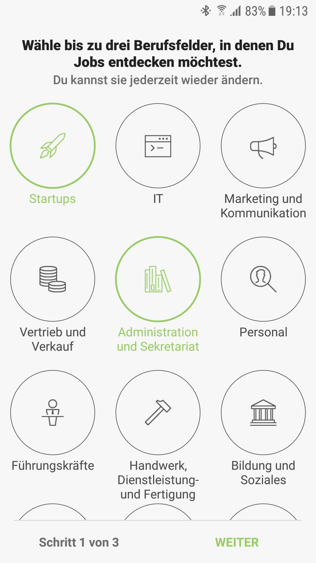 Truffls Jobbörse: Jobs swipen und per App bewerben