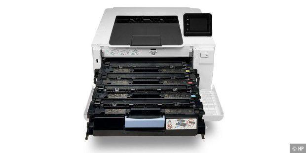 Verlässlicher Farblaserdrucker: HP Laserjet Pro M254dw im Test - PC-WELT