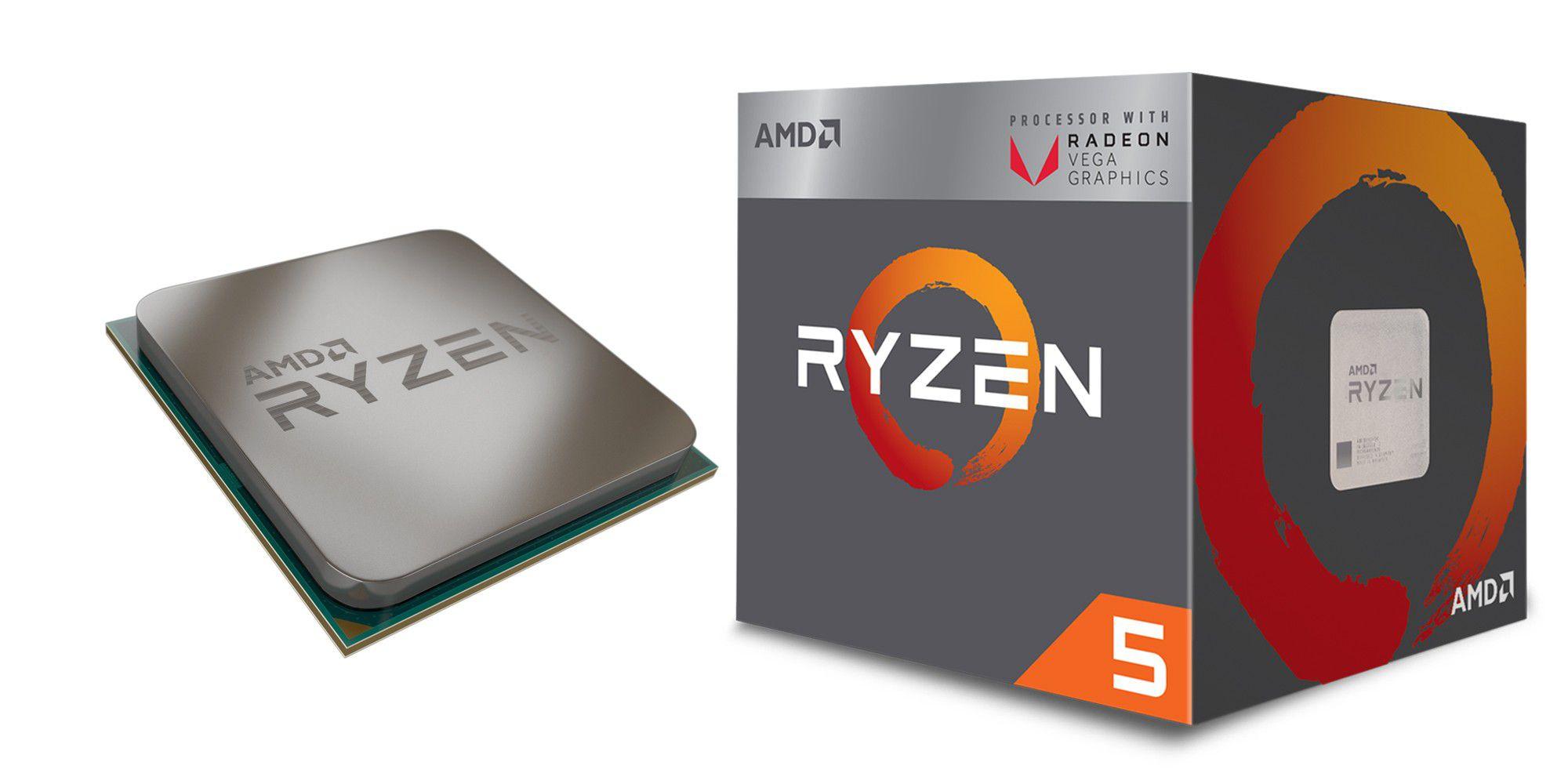 AMD Ryzen 5 2400G im Test: Zen-CPU mit Radeon-Grafikkern