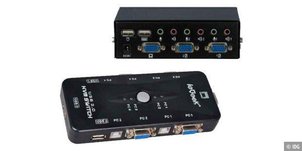 KVM-Switches im Vergleich.