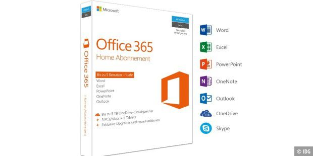 Office 365 Home aktuell bei Amazon im Angebot