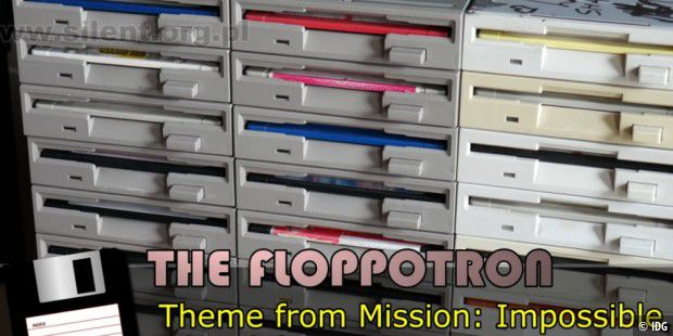 The Floppotron spielt Mission: Impossibe Theme