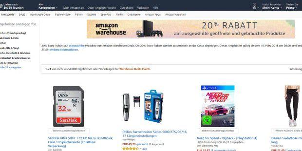 Amazon ist jetzt mehr wert als Google