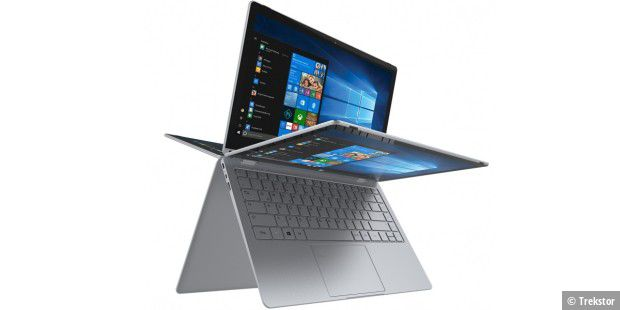 Windows-Convertible im Test: Trekstor Primebook C13