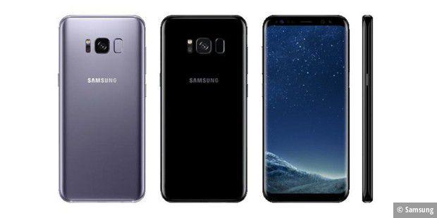 Samsung Galaxy S8 Und Erhalten Update