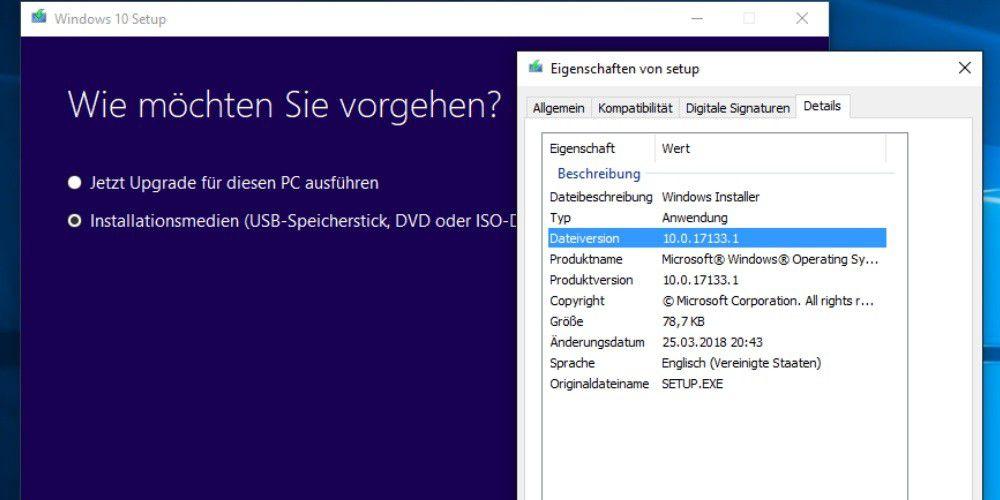 Windows 10 Frühlings-Update: ISO-Dateien bereits zum Download - PC-WELT