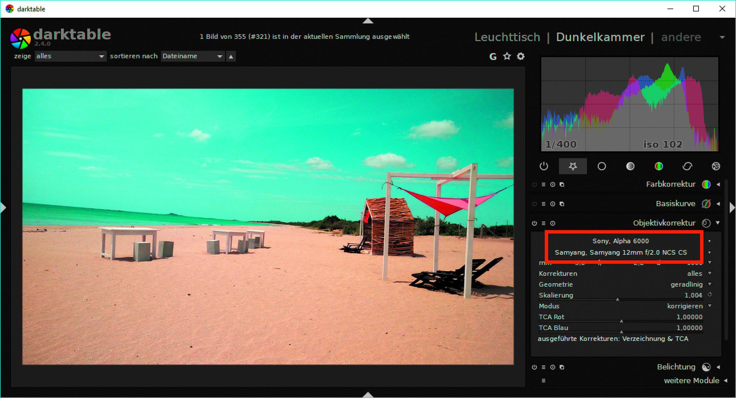 Raw-Fotos mit Darktable entwickeln - PC-WELT
