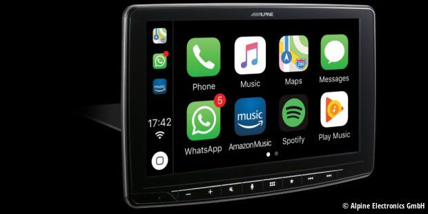 Carplay auf dem Halo9.