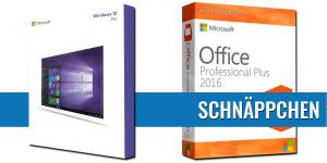 Werbeaktion: Windows 10 Pro & Office 2016 im Bundle