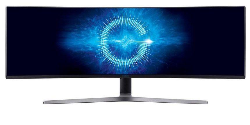 Test Samsung C49HG90 Gaming Monitor Mit Ultrabreitem 32