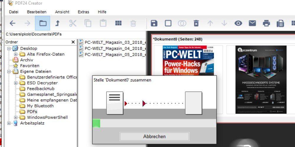 Pdf Dateien Zusammenfugen Freeware