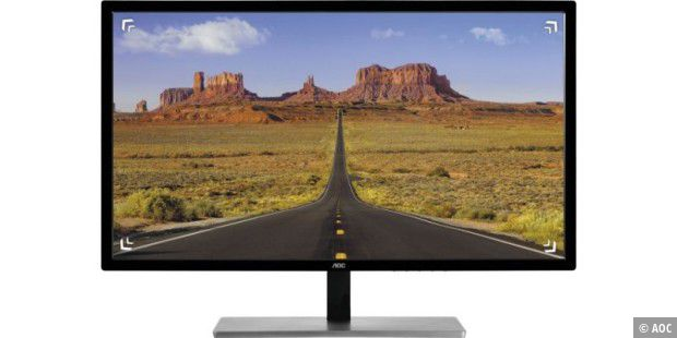 AOC Q3279VWF: Preiswerter Allround-Monitor mit Gaming-Potential