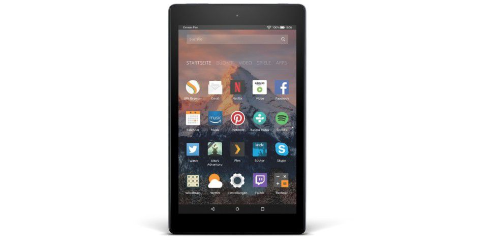 Platz 10: Amazon Fire HD 8 (2017)