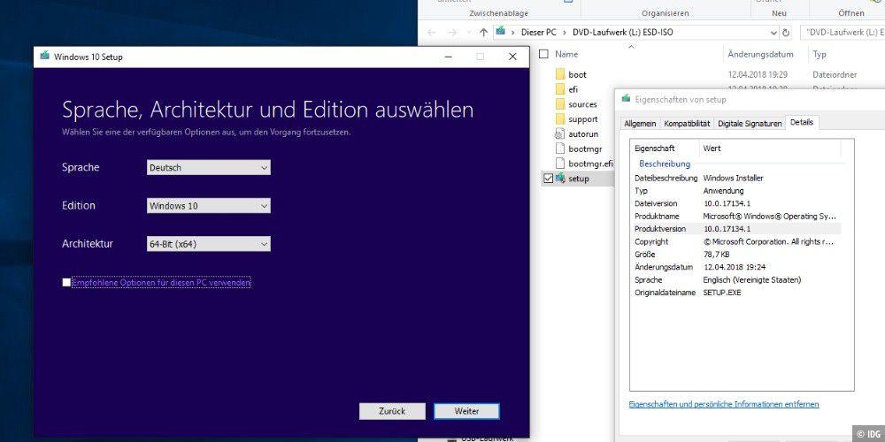 Windows 10 Update Von Iso