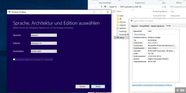 Windows 10 April-Update (Build 17134.1) zum Download