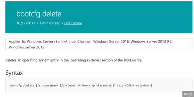 Windows Command Reference PDF
