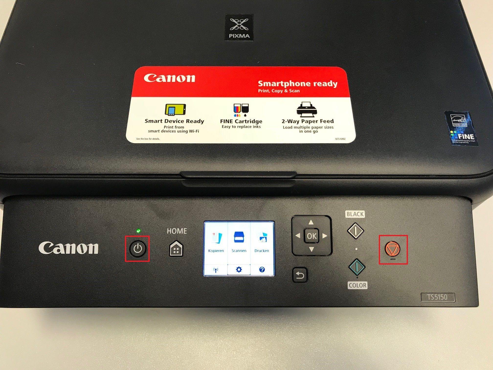 Reset Von Canon Pixma Drucker Durchführen Pc Welt